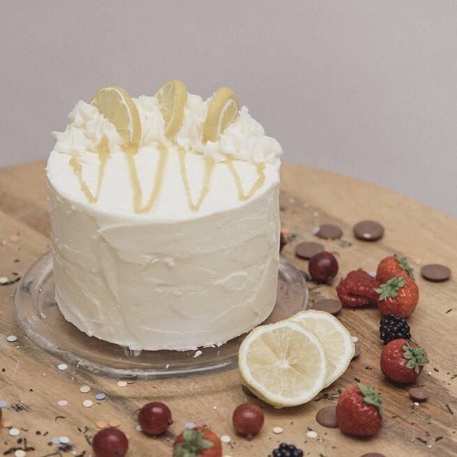 Luscious lemon Buttercream Delicious Cakes