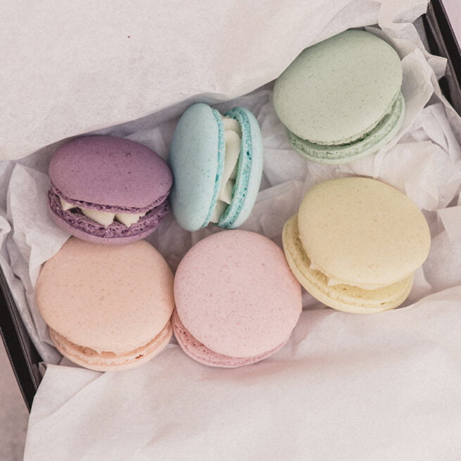 Macaron Treats by Post