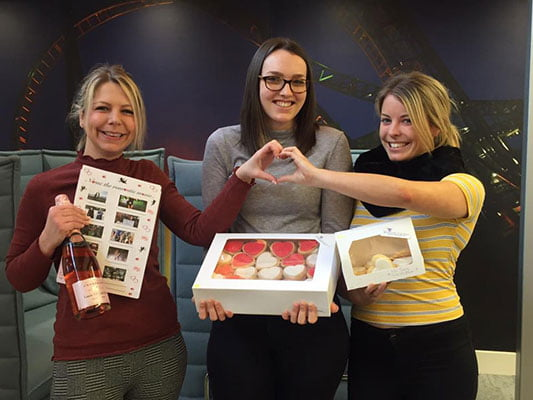 Holiday Extras Valentines Cookies