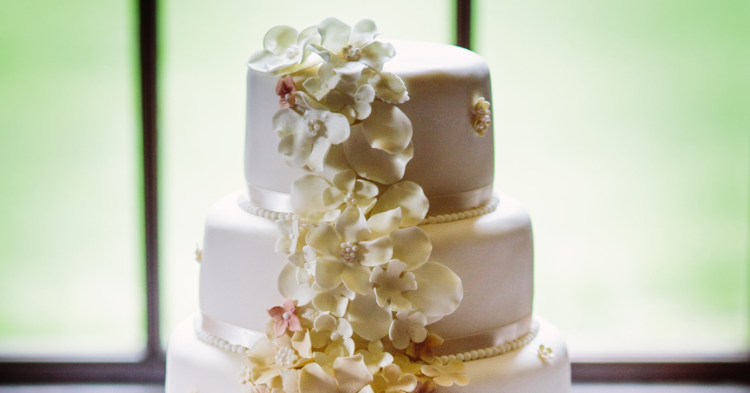 Wedding cake Bradbourne House