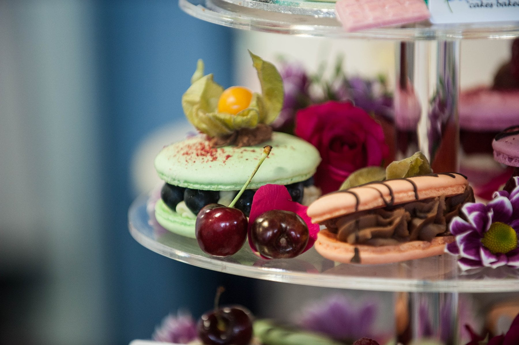 Learn to make giant macarons filled with ganache at our cake classes in Maidstone, Kent