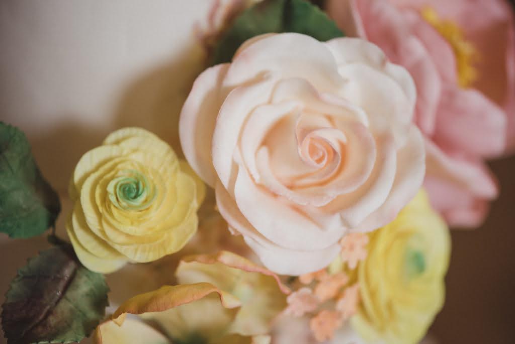 Bluebell Kitchen Handmade Pastel Sugar Roses