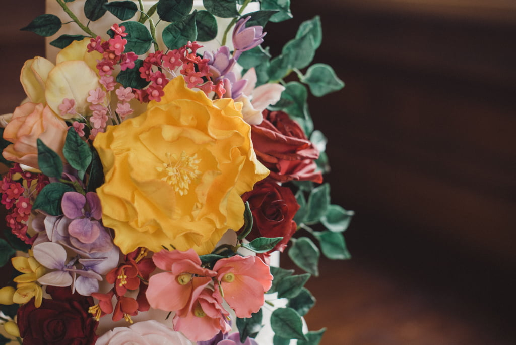 Bluebell Kitchen Bold and Bright Sugar Flowers Peonies and Roses