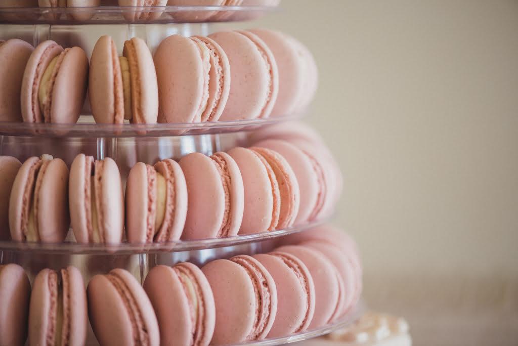 Bluebell Kitchen pastel pink macarons