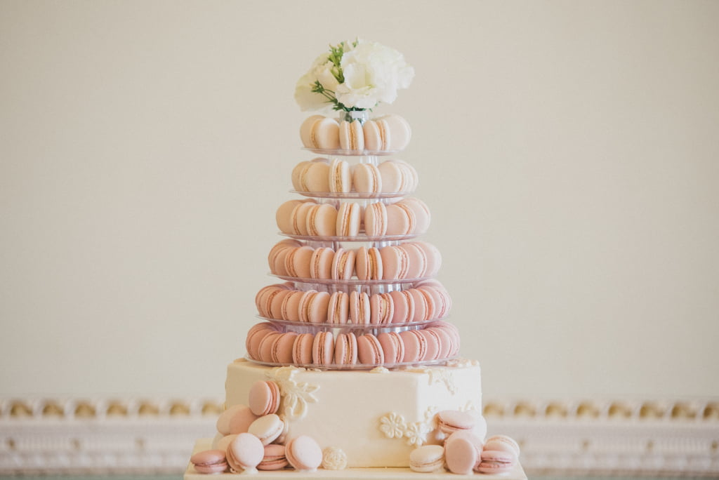 Bluebell Kitchen Pink Ombre Macaron Tower