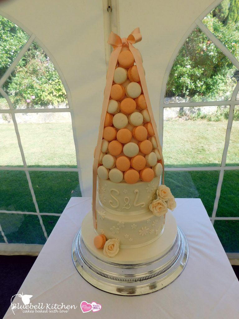 Bluebell-Kitchen-Macaron-Tower-Peaches-and-Cream