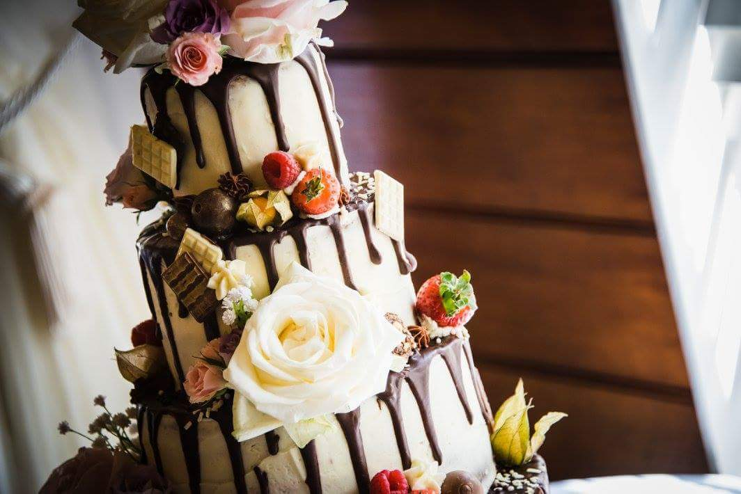 Surprise First Wedding Anniversary Cake!