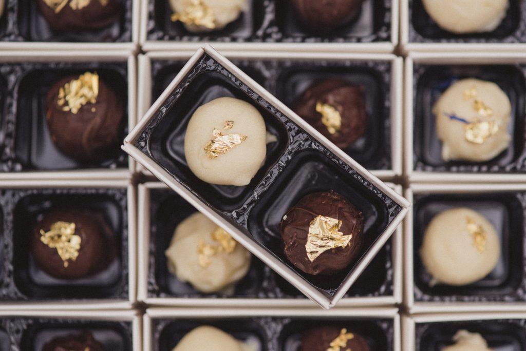 Bluebell Kitchen handmade chocolate truffles