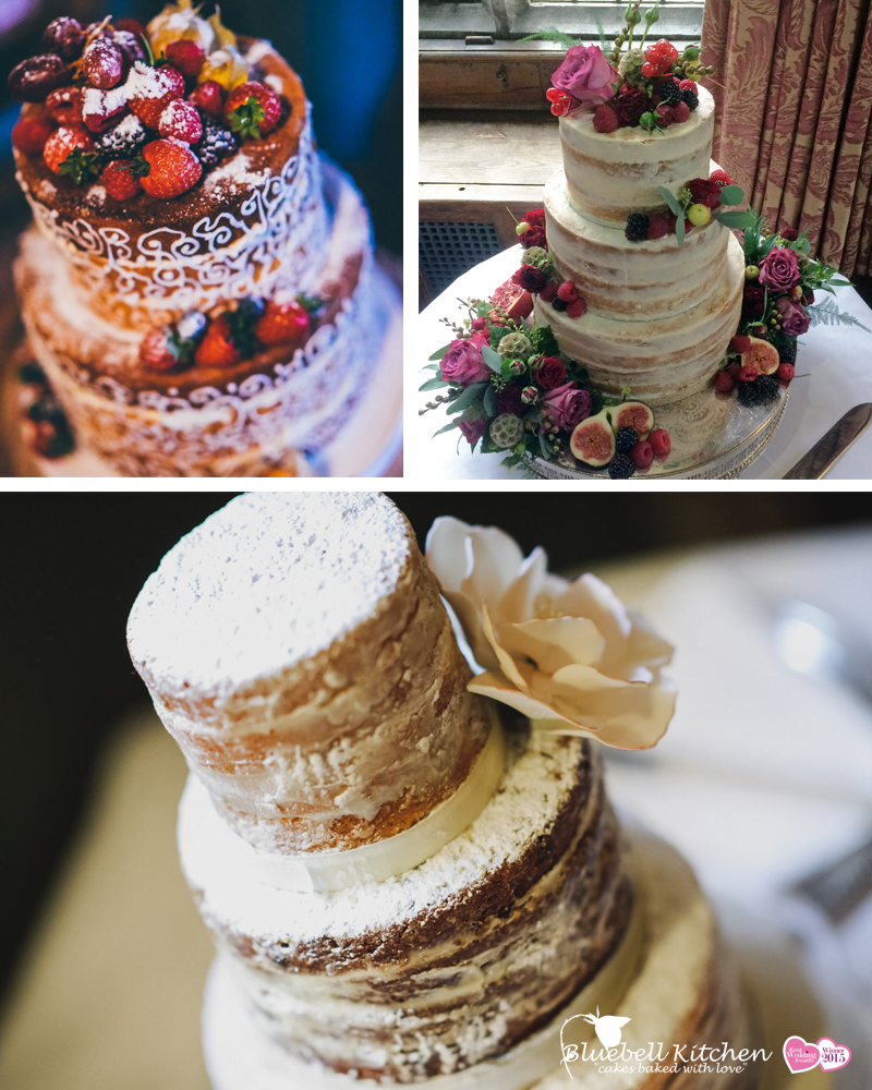 Sophisticated Naked Cakes by Bluebell Kitchen