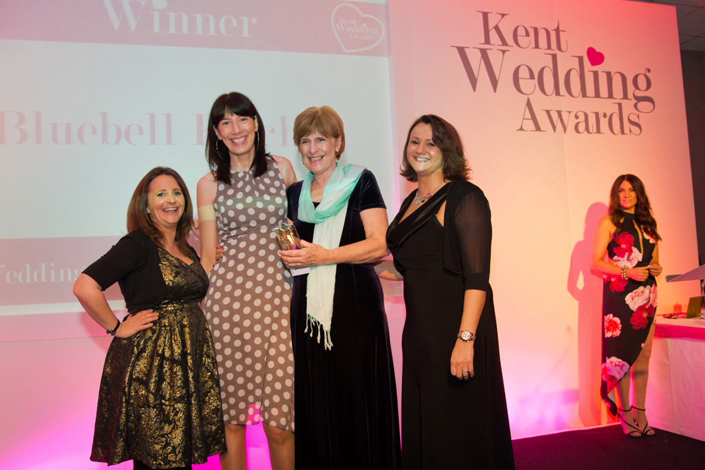 www.bluebellkitchen.co.uk Kent Wedding Awards - Cake Designer of the Year