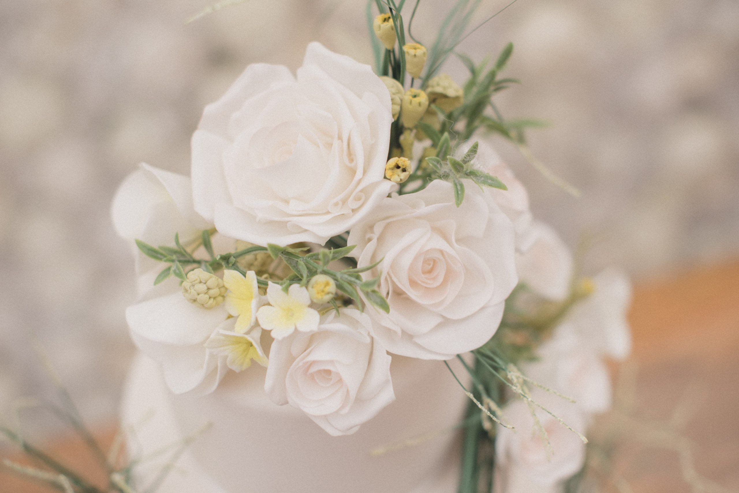 Sugar Flowers Bluebell Kitchen Wedding Cakes Kent White Roses