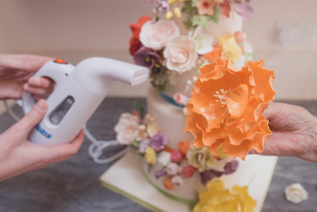 Sugar Flowers Bluebell Kitchen Wedding Cakes Kent Finishing Touches