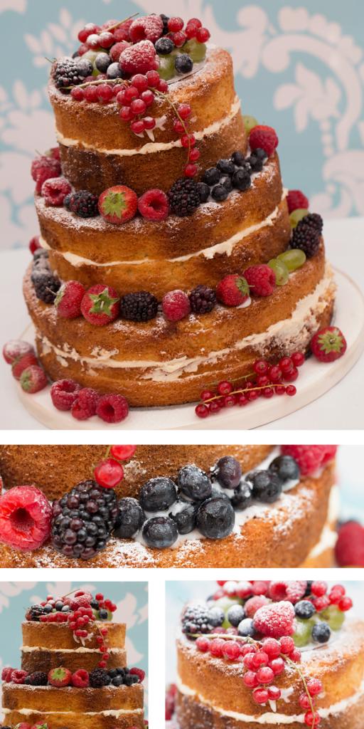 Naked Cake rustic style cake