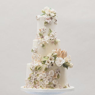 Wedding cakes by Bluebell Kitchen