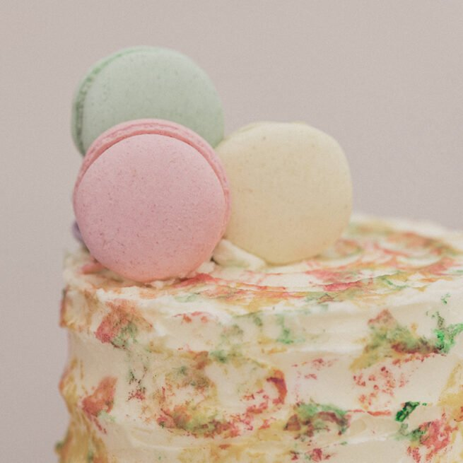 Incredible French Macaron Cake - Kent