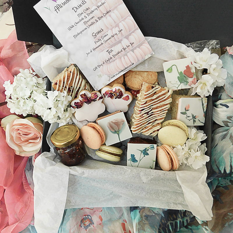 Bluebell Kitchen Mothers Day Afternoon Tea Delivery