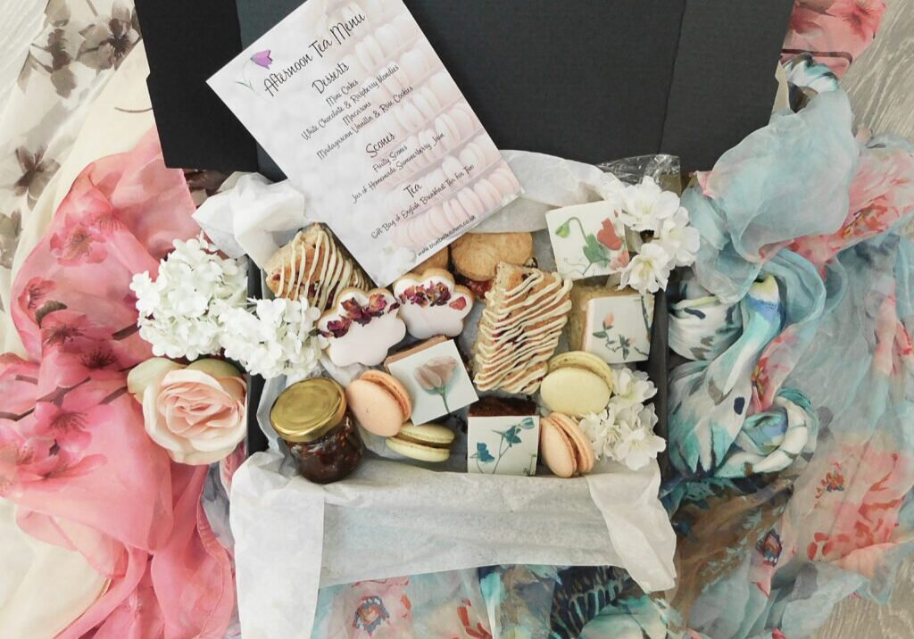 Mother's Day Gift Ideas Afternoon Tea by Post