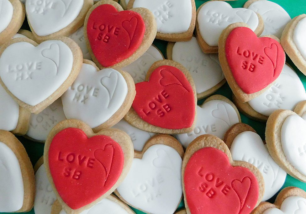 Valentines Cookies by Bluebell Kitchen